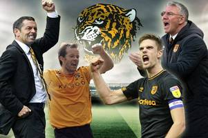 is history repeating itself? how hull city's current crop measure up to the class of 2008