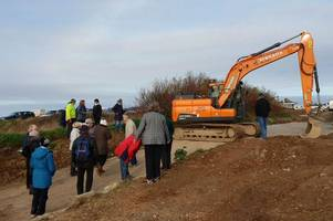 row over treasured hedge that led to roadblock protest is resolved