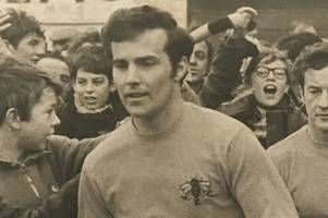 scunthorpe football legend duncan welbourne who played 280 consecutive games for watford after joining from grimsby town dies