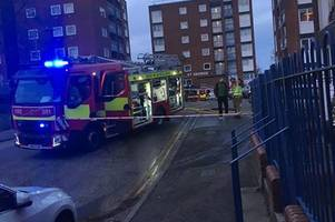 live updates: newmarket flat fire closes road and prompts emergency response