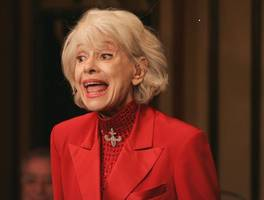 Carol Channing, Broadway star, has died at the age of 97, her publicist confirmed