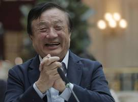 Huawei's CEO called Trump a 'great president' in an extraordinary plea to end America's war with his company