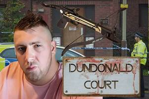 dundee crossbow killer stabbed victim for 'spying' on him in horror street rampage
