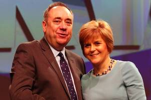 inside track of how salmond v sturgeon row created political earthquake for snp