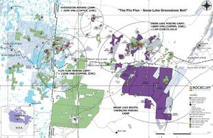rockcliff identifies multiple vms targets at the sls #2 property and strengthens land position at snow lake, manitoba