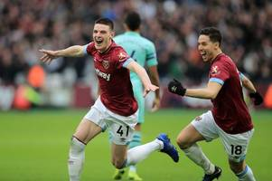 west ham fans will absolutely love what samir nasri has said about declan rice