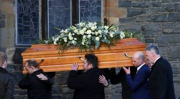 former psni chief superintendent robbie robinson killed on mourne hike laid to rest