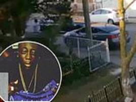 feds release footage of shootout in between gang member and fbi agent