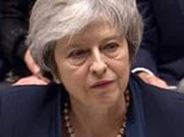 peter oborne: say what you will about the prime minister, but there's no questioning her tenacity