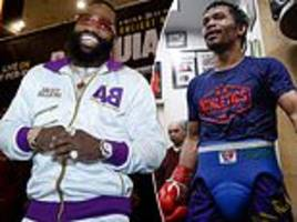 adrien broner confident he can knock manny pacquiao out during las vegas bout