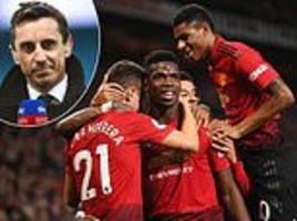 Gary Neville says 'no one should ever shape Manchester United's philosophy' after Jose Mourinho