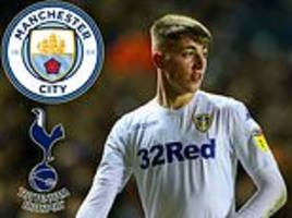 man city and tottenham keep tabs on jack clarke's contract situation