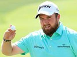 shane lowry reaps rewards from christmas break at abu dhabi hsbc championship
