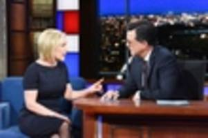 kirsten gillibrand announces presidential campaign on late show with stephen colbert