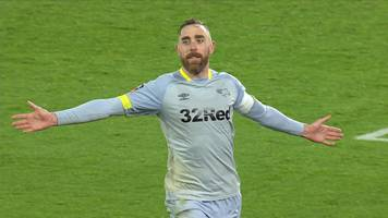 fa cup: richard keogh scores winning penalty in shootout as derby shock southampton