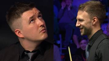 masters 2019: unexplained whistle interrupts judd trump and kyren wilson first-round match
