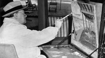 sir winston churchill's paintings to go on display at blenheim palace