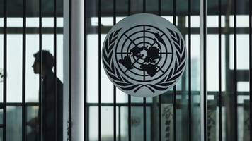 a third of un staff say they've been sexually harassed in past 2 years