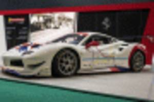 ferrari's club competizioni gt will see f40s and f50s on the track with the 488