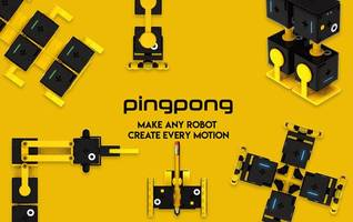 robot factory presents pingpong -- a new paradigm of easy, fun, affordable and super-extensible robot platform