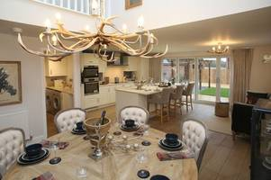 this is what the new show homes in the leicestershire village of lower bardon look like