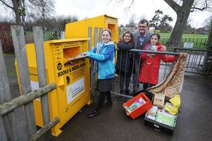 lifesaving missions put at risk after thieves steal clothing banks from water orton primary school
