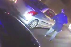 watch police seize deadly weapons from car in wolverhampton