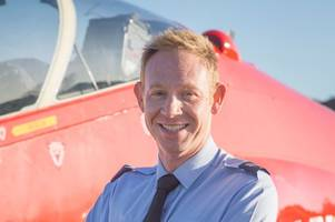 raf engineer who died in red arrows jet crash filmed his medical training for new documentary