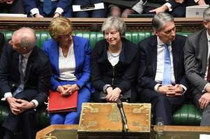 Prime Minister Theresa May faces ANOTHER confidence vote after Brexit deal crushed in key Commons vote