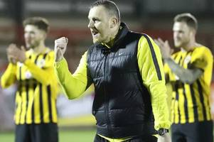home form needs to improve, admits craig elliott as boston united look to build on away win