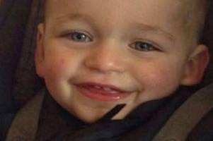 pictured: toddler alfie lamb was crushed to death by gravesend mum's boyfriend for 'making a fuss'
