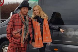 amanda holden and keith lemon took a roadtrip to dover while filming for a 'new show'