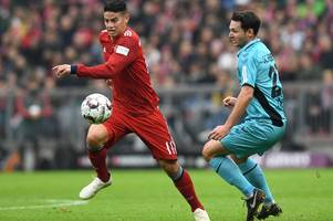 arsenal could secure services of james rodriguez for very small fee