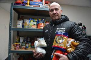 gym owners give struggling families a lift by opening a foodbank