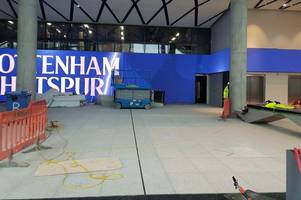 new tottenham stadium: 41 photos from today inside and outside, opening date, test events latest