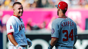 If the Phillies Sign Bryce Harper, It Won't Preclude Them From Trying to Eventually Lure Mike Trout