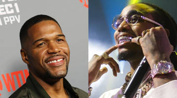 quavo, michael strahan want to show clemson how to celebrate
