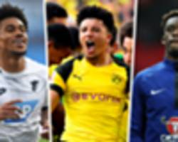 sancho, nelson and hudson-odoi next? the invasion of europe by english youngsters