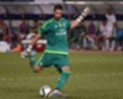 leeds complete casilla capture from real madrid