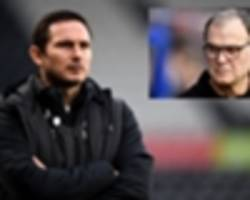 i haven't seen guardiola or klopp do that – lampard slams bielsa's leeds spying presentation