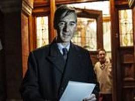 jacob rees-mogg threw a champagne party for jubilant brexiteer rebels