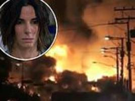 netflix comes under fire for using real footage of the deadly lac-mégantic train crash in bird box