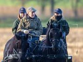 Prince Philip Duke of Edinburgh carried on driving cars and horse-drawn carriages in retirement