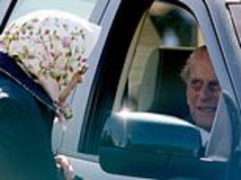 there's only one person who can tell prince philip to stop driving... but will the queen dare?