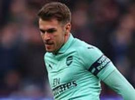 aaron ramsey signs pre-contract agreement to join juventus in summer