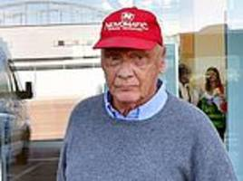 f1 legend niki lauda released from hospital after contracting influenza