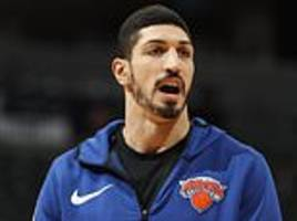New York Knicks' Kanter misses London game over assassination fears
