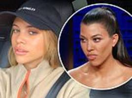 Sofia Richie looks flawless as she dons baseball cap and fleece jacket for 'bundle weather'