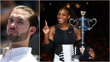 alexis ohanian says he keeps a spreadsheet of everything he owns while wife serena williams 'has no ideas where all of her trophies are'