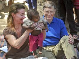 bill and melinda gates say they've found something better at curbing immigration than a wall